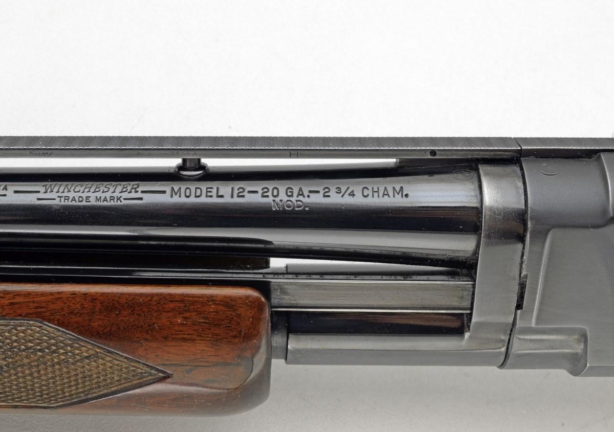 Round Post Donut Base Rib Manufacture | Winchester Shotguns